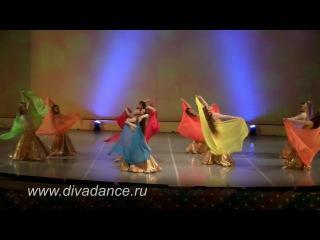 Золотое ожерелье bellydance танец живота для детей, восточный детский танец с платками от Divadance