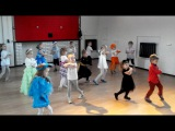 Детская группа по Хип-Хоп 3-5 лет. Новогодний Утренник 2015. ONE2STEP! школа танцев.