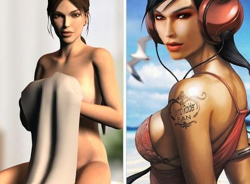 Героини игр секси