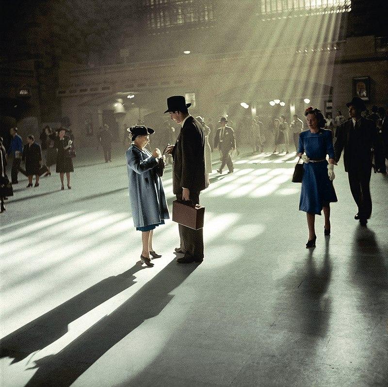 Такой большой и такой центральный. Центральный вокзал Нью-Йорка, 1941 год