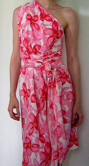 Как сшить из кусков ткани платье 12