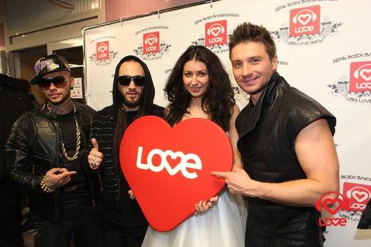 L'One и Тимати выступили на Big Love Show