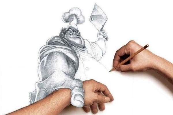 фото рисованные карандашом: