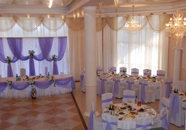 оформление банкетного зала москва: