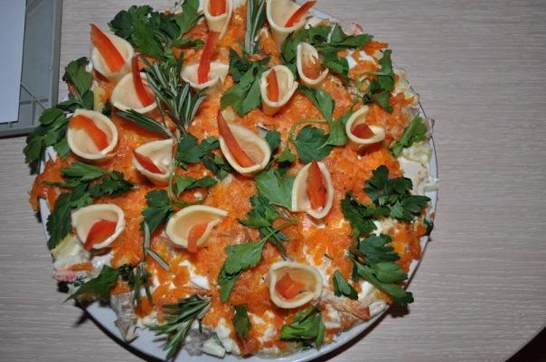 салат букет