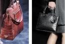моды на классические сумки.