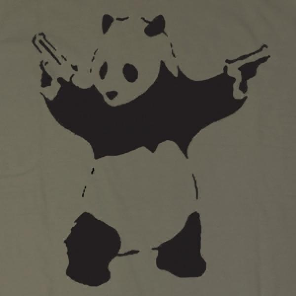 Выбери сайт маек - Футболка с пандой с кошками. футболка i love ny...