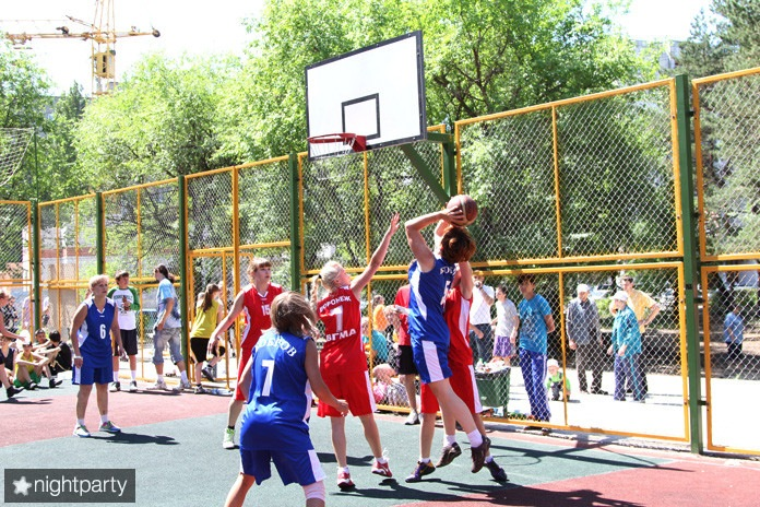 5 июня п. Танаис - Открытие летней лиги по уличгому баскетболу