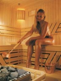 Женская русская баня реальное