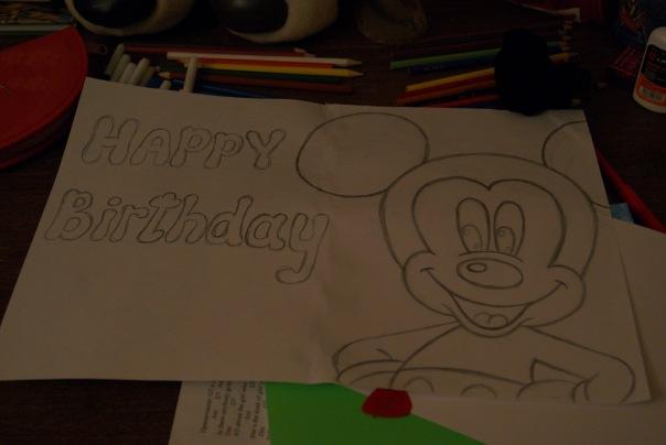 Рисунки для папы на день рождения своими руками от дочки