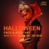 Грим на Хэллоуин - фэйс-арт - макияж Харьков