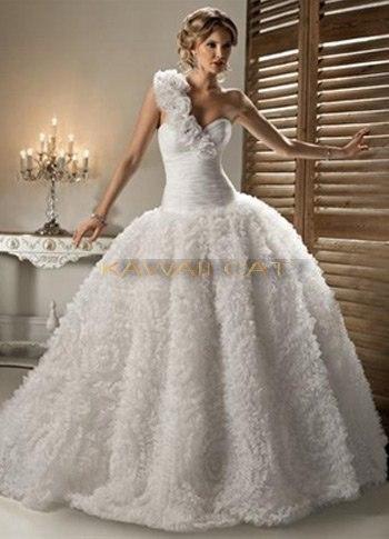 Шикарные Дорогие Свадебное Платье 71