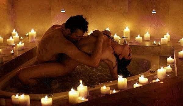 Секс и романтический вечер
