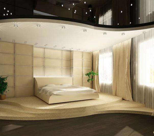 Подиум в спальне является.