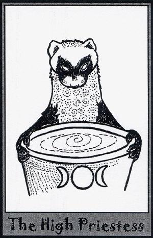 Колода карт Таро (Хорьки) X_51fed1b6