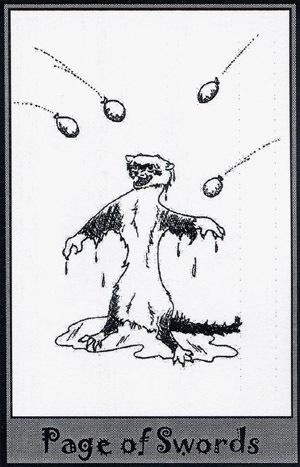 Колода карт Таро (Хорьки) X_5a53ea85