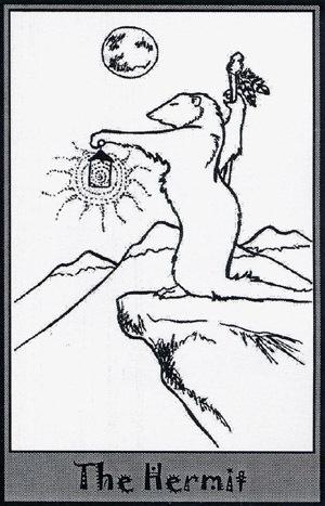 Колода карт Таро (Хорьки) X_5e592f62