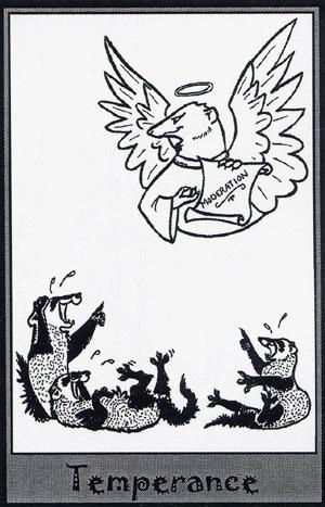 Колода карт Таро (Хорьки) X_6ea0e016