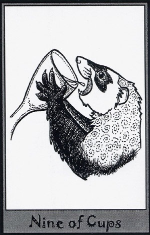 Колода карт Таро (Хорьки) X_79e7a59e
