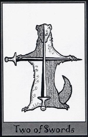 Колода карт Таро (Хорьки) X_8c8d2346