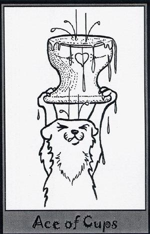 Колода карт Таро (Хорьки) X_925d712d