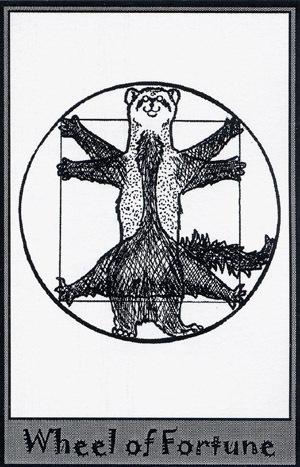 Колода карт Таро (Хорьки) X_935c7e8f