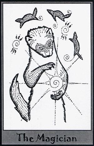 Колода карт Таро (Хорьки) X_999cada4