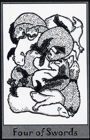 Колода карт Таро (Хорьки) X_badea931