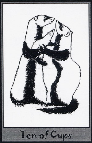 Колода карт Таро (Хорьки) X_d3710b57