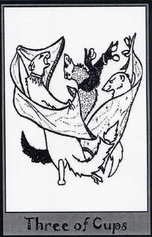 Колода карт Таро (Хорьки) X_d568277e