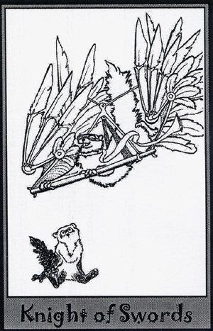 Колода карт Таро (Хорьки) X_ed945b20