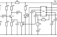 Схема электрическая принципиальная NK134