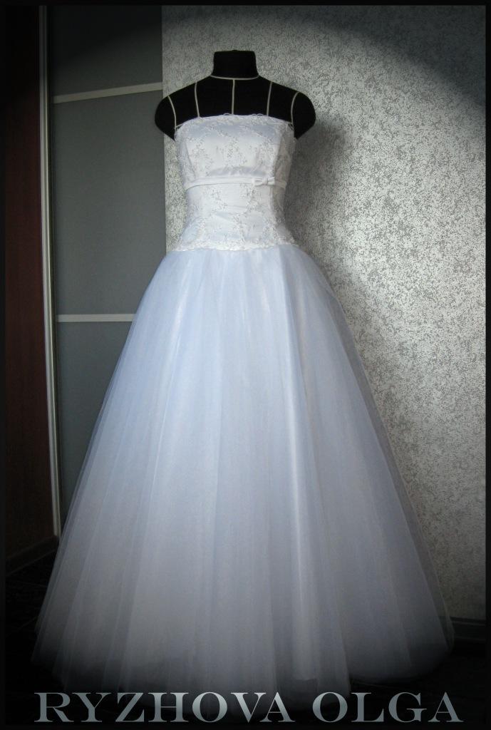 Как сшить платье невесты