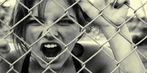картинки злая девушка, фото злых девушек...