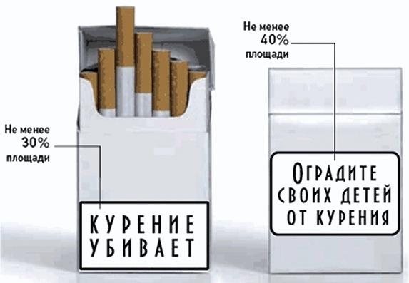 Надписи сигаретах