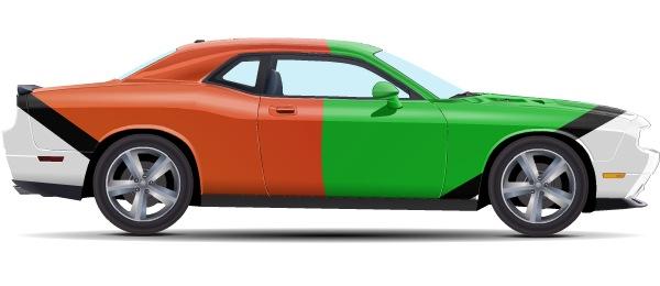 Андрей Барсуков.  Затюнил Dodge Challenger SRT8.  7 сен 2011.
