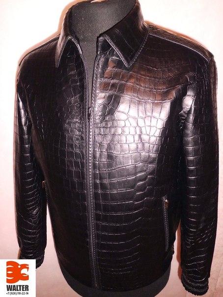 куртка из кожи КРОКОДИЛА +7(926) 118-2214.