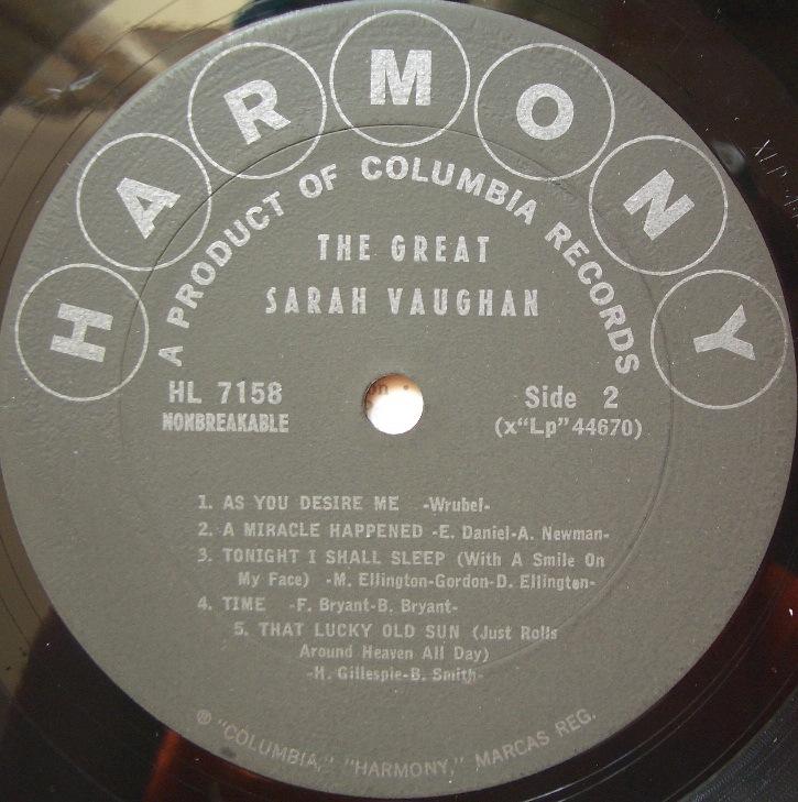 columbia harmony