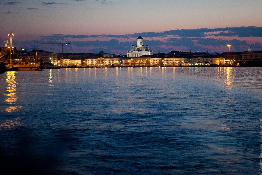 Хельсинки Helsinki Helsingfors залив