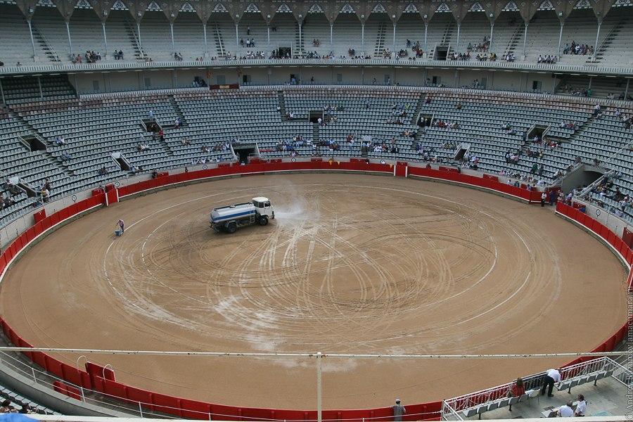 Барселона испанская коррида corrida