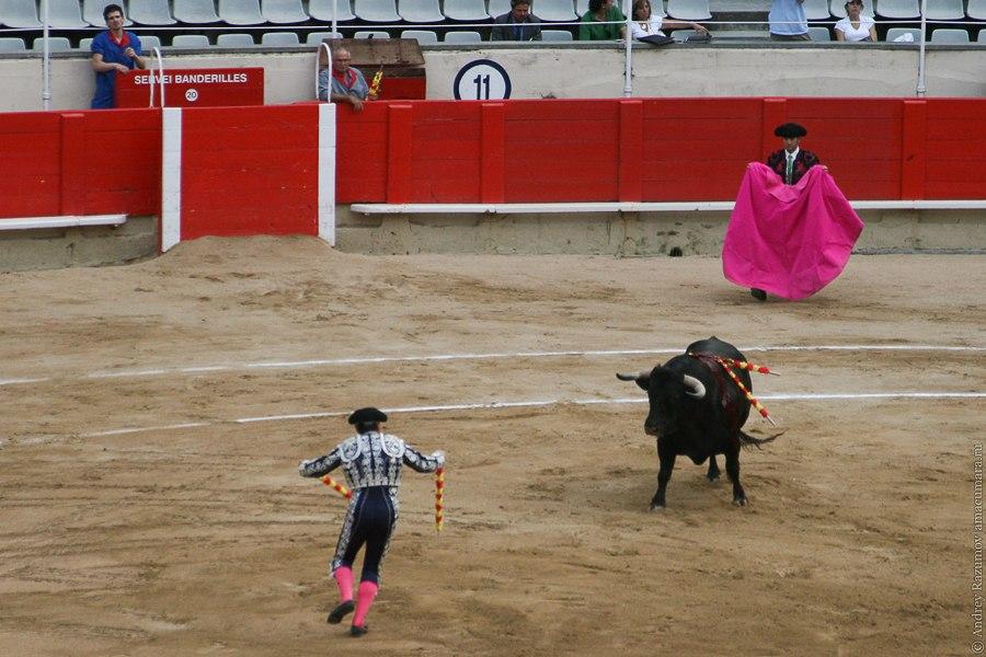 бандерильеро испанская коррида corrida