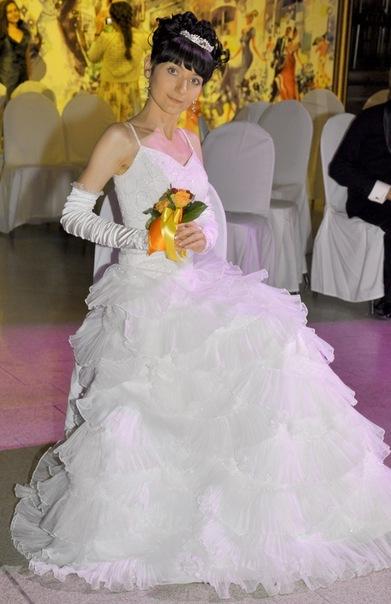Платье нарцисс