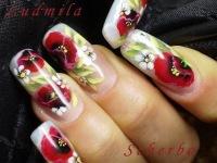 рисунки гелевые ногти фото