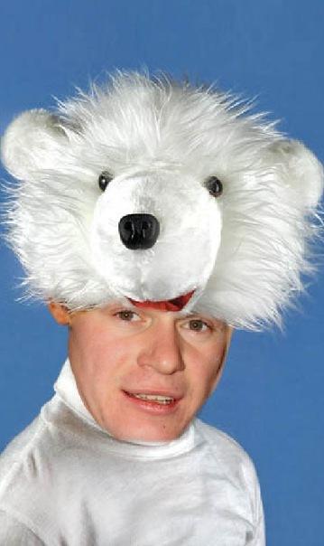 Шапочка Белый Медведь, фото.