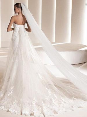 Свадебное платье русалка Dublin.