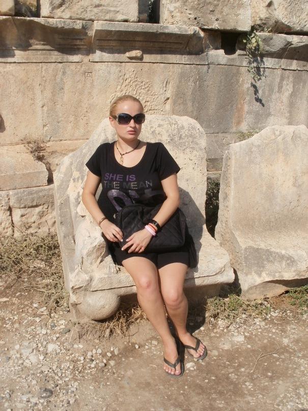Мои путешествия. Елена Руденко. Турция. Мира-Кекова-Церковь Св. Николая Чудотворца. 2011 г. Y_32a85b8c