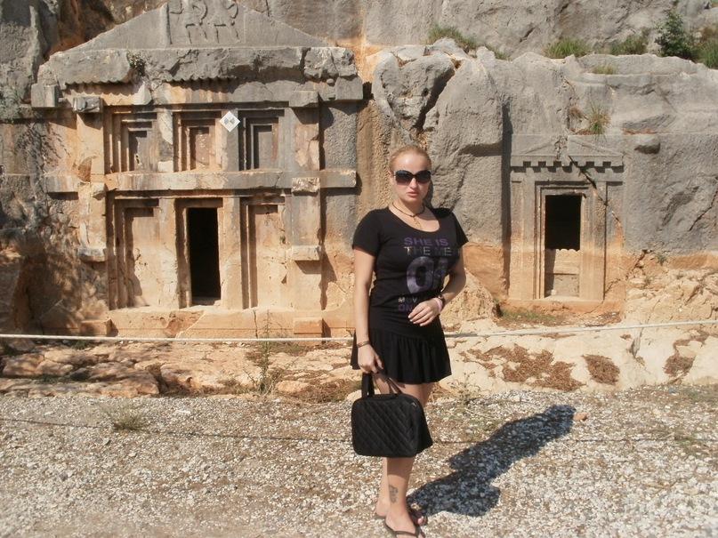 Мои путешествия. Елена Руденко. Турция. Мира-Кекова-Церковь Св. Николая Чудотворца. 2011 г. Y_c98312d1