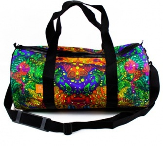 Дизайнерская сумка, автор иллюстраций/принтов - Evgeny Kiselev.