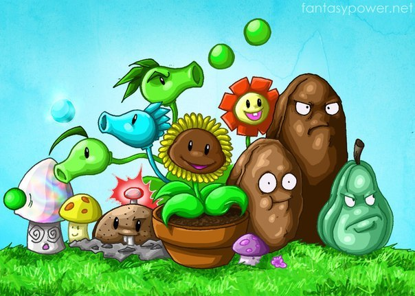 Игры Растения Против Зомби онлайн, играть бесплатно