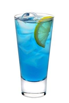 Приятный голубой цвет коктейля, нежный вкус и аромат делает напиток...
